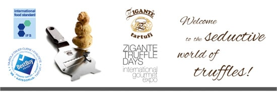 GAST 2018, Zigante tartufi